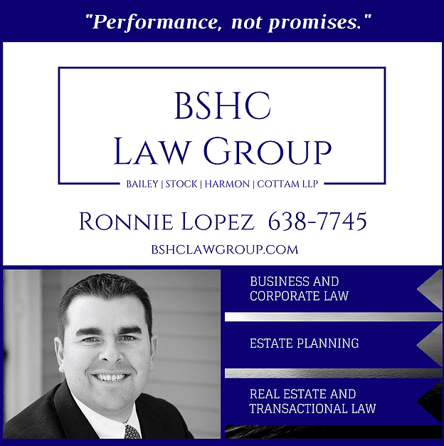 "Ronnie Lopez of BSHC Law Group. ""Performance, not promises"""